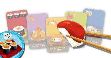 Test – Sushi Draft & Sushi Go (Maki c'est le meilleur ?)