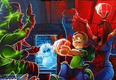 Test – Ghost Fightin Treasure Hunters : Creepy Cellar
