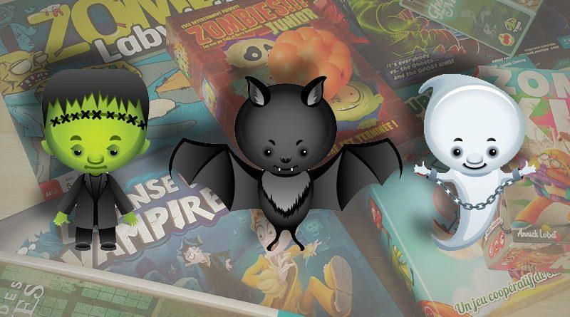 Les meilleurs jeux de société pour Halloween, saison 3