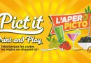 Pict it : l'apéro en print and play