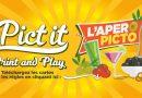 Pict it : l'apéro en print and play