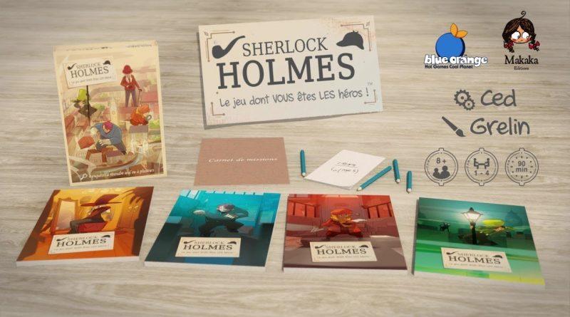 Test – Sherlock Holmes – Le jeu dont VOUS êtes LES héros