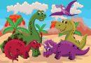 5 jeux de dinosaures pour jouer avec les marmots – Episode 1