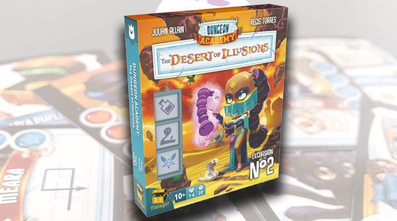 Test – Dungeon Academy : le Désert des Illusions