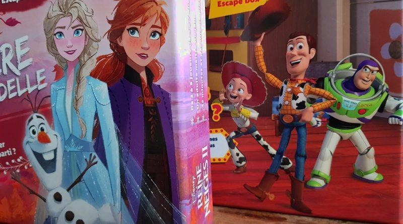 Test – Escape Box Disney – Toy Story & La Reine des Neige 2