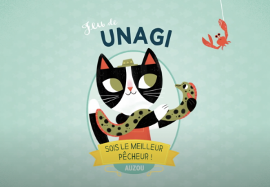 Unagi : chat sent la pêche ici !